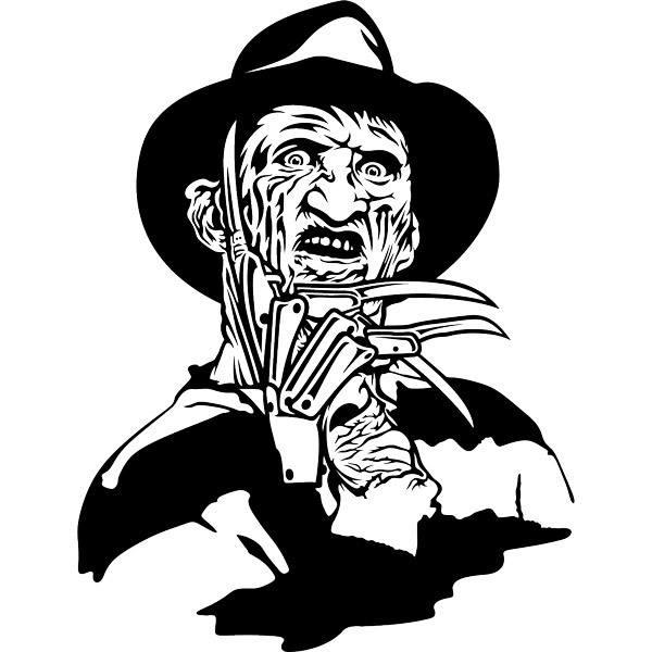 Wandtattoo Freddy Krueger Webwandtattoo Com