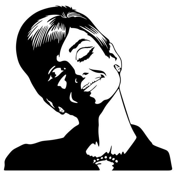Wandtattoos Audrey Hepburn Traumt