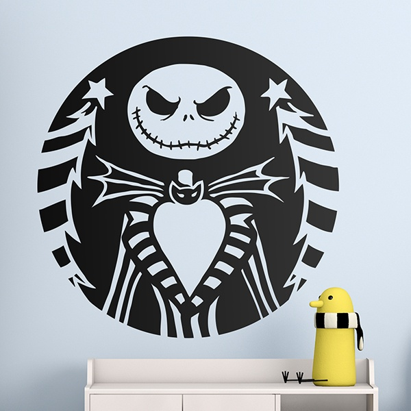 Kinderzimmer Wandtattoo: Jack Skellington