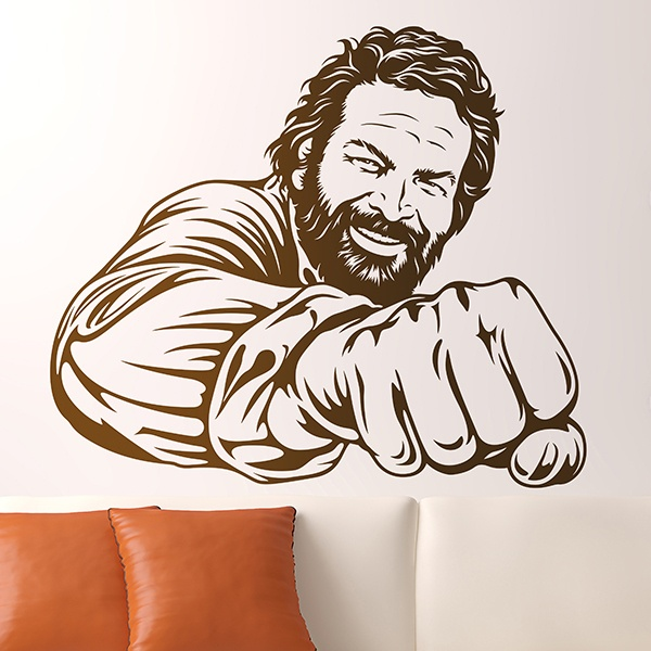 Wandtattoos: Bud Spencer