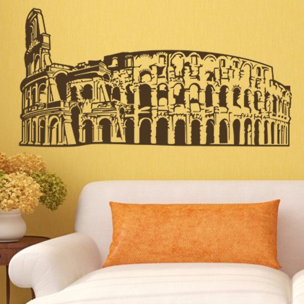 Wandtattoos: colosseo roma