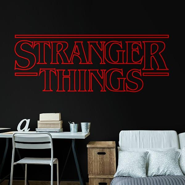 Aufkleber Stranger Things Webwandtattoocom