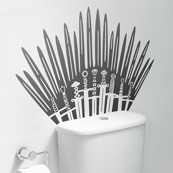 Wandtattoos: Iron Throne from Game of Thrones