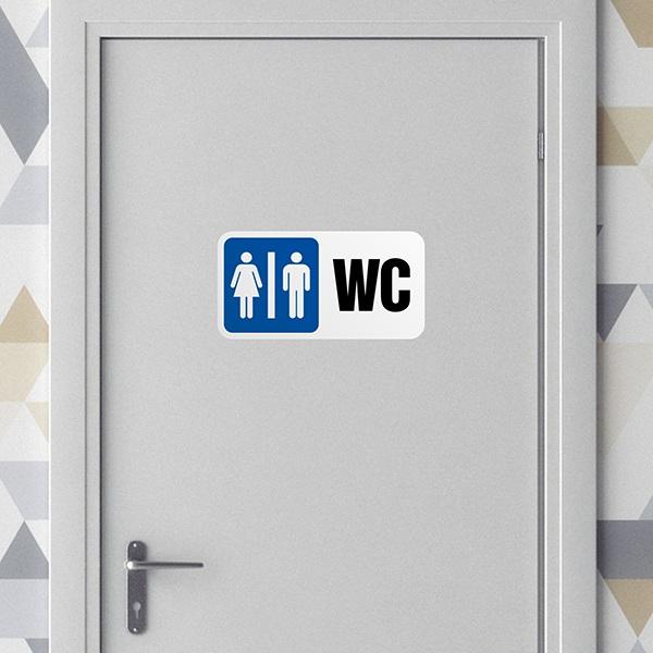 Wandtattoo badezimmer sprüche Signieren WC | WebWandtattoo.com