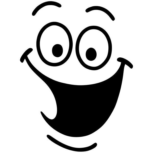 Wandtattoo badezimmer lachen wc for Braune klebefolie