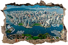 Wandtattoos: Stadt Vancouver 3