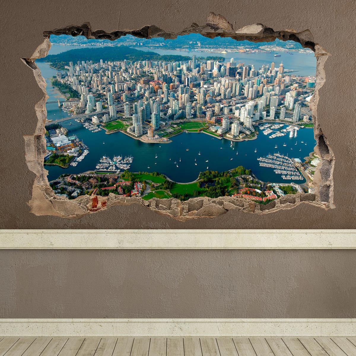 Wandtattoos: Stadt Vancouver