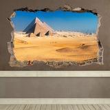 Wandtattoos: Loch Pyramiden von Gizeh 0