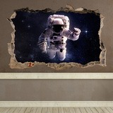 Wandtattoos: Loch Astronaut 0