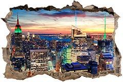 Wandtattoos: New York Nacht 3