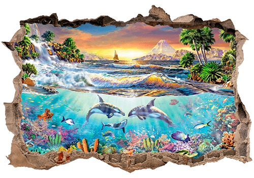Wandtattoos: Loch Seascape