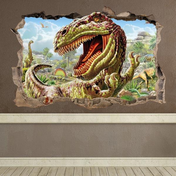 Wandtattoo dinosaurier - Wandtattoo dino ...