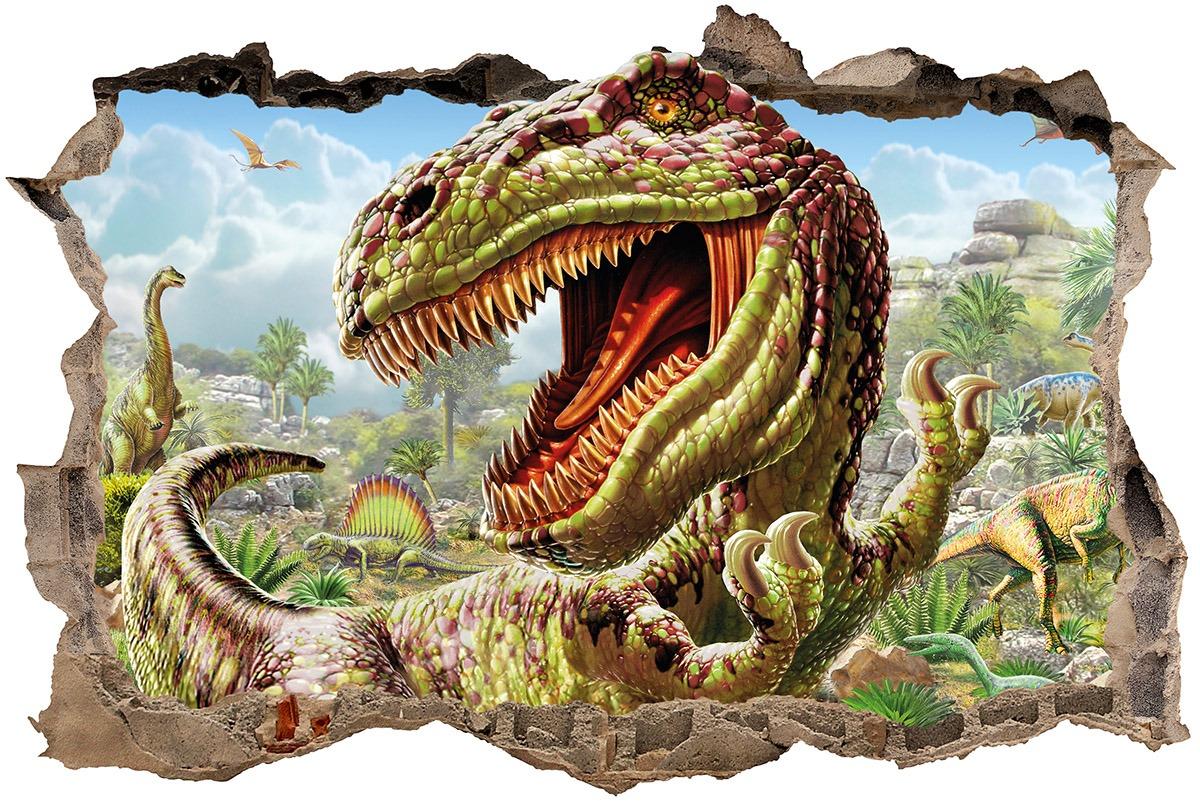 Wandtattoos: Loch Dinosaur