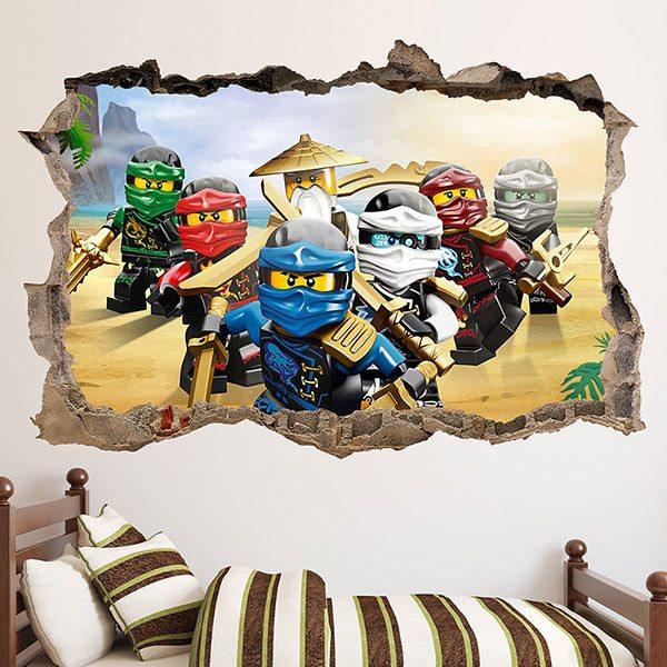 Ausgezeichnet Wandtattoo Kinderzimmer Ninjago Bilder - Die ...