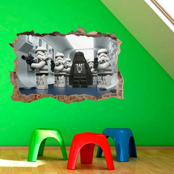 Kinderzimmer Wandtattoo: Lego, Star Wars Darth Vader