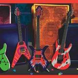 Wandtattoos: Bordüre Gitarren 4