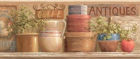 Wandtattoos: Bordüre Antiques