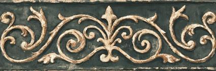 Wandtattoos: Bordüre klassischen Stil 3