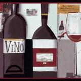 Wandtattoos: Bordüre Wein 4