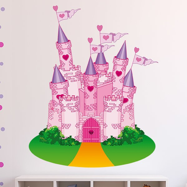 Kinderzimmer Wandtattoo Das Schloss der Liebe