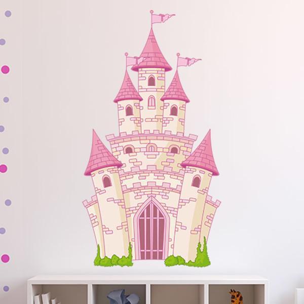 Kinderzimmer Wandtattoo Schloss Fantastisch