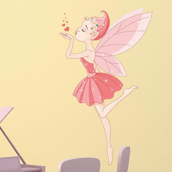 Ballerina-Fee Kuss