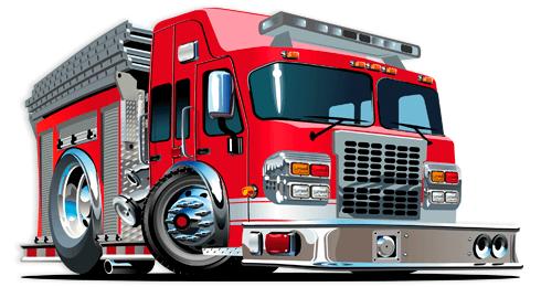 Kinderzimmer Wandtattoo: Feuerwehrauto 3