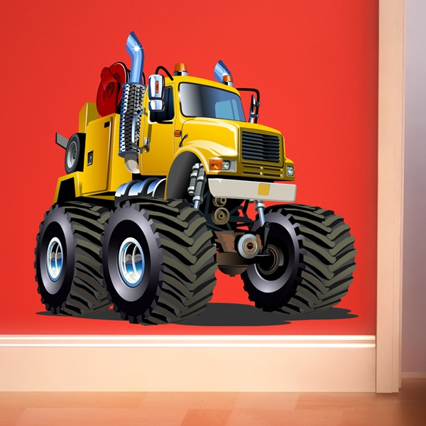 Kinderzimmer Wandtattoo: Monster Truck 20