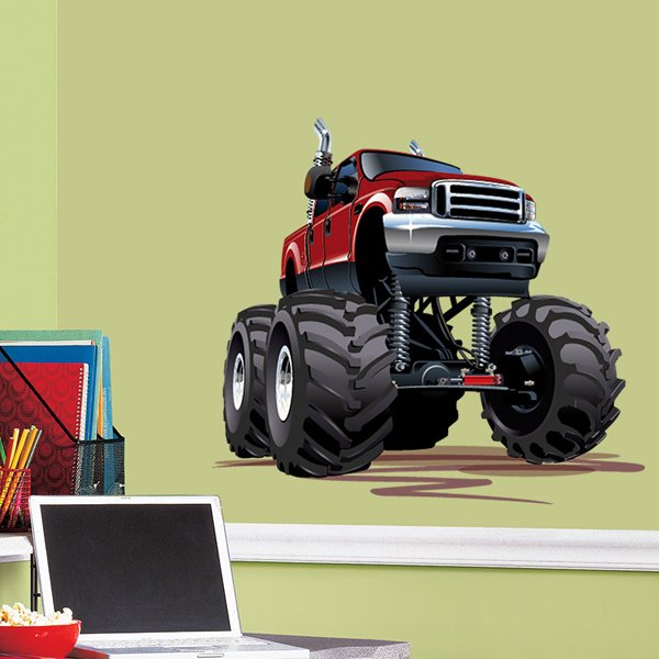 Kinderzimmer Wandtattoo: Monster Truck 5