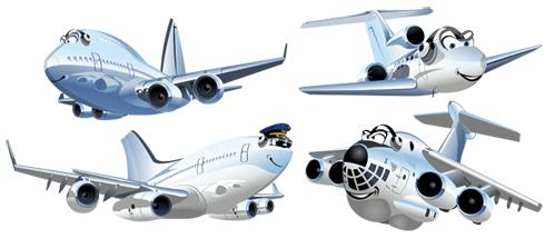 Kinderzimmer Wandtattoo: Kit Airliners 2