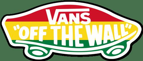 Aufkleber: Vans off the wall 4