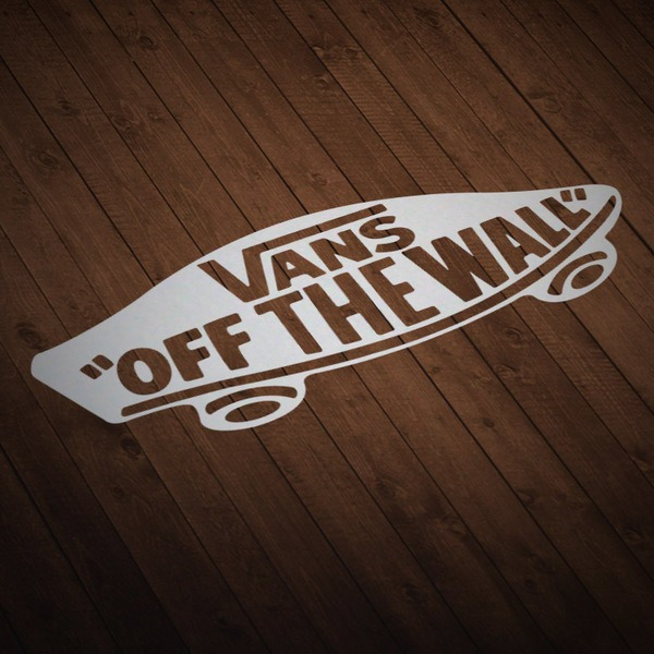 Aufkleber: Vans off the wall skate