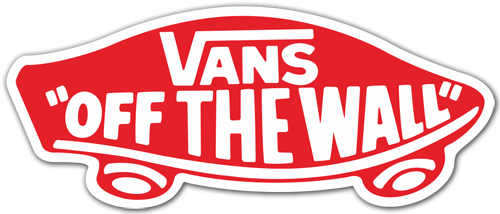 Aufkleber: Vans off the wall 7 0