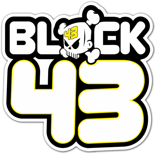 Aufkleber: Ken Block 43 DC Shoes 2