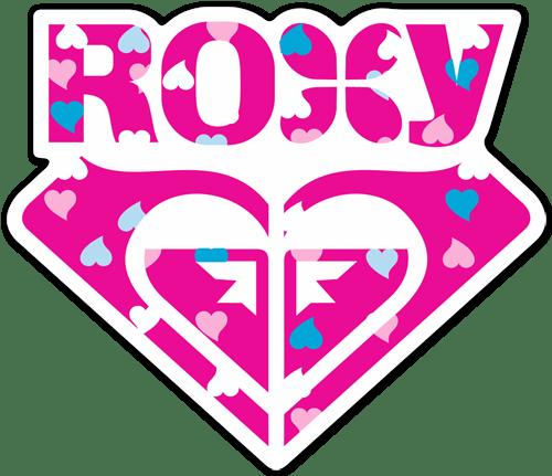 Aufkleber: Roxy 3