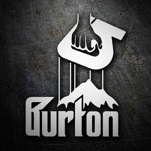 Aufkleber: Burton Godfather