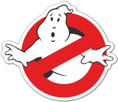 Aufkleber: Ghostbusters