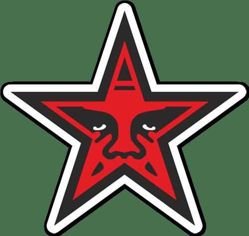 Aufkleber: Obey Star