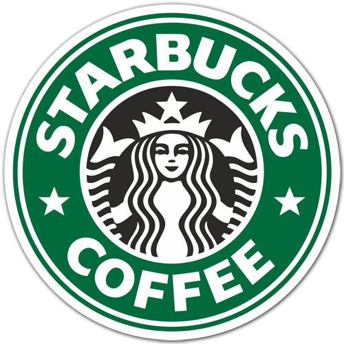 Aufkleber: Starbucks Coffee 0