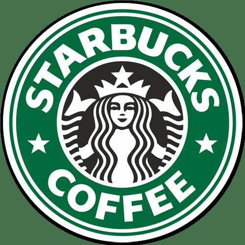 Aufkleber: Starbucks Coffee