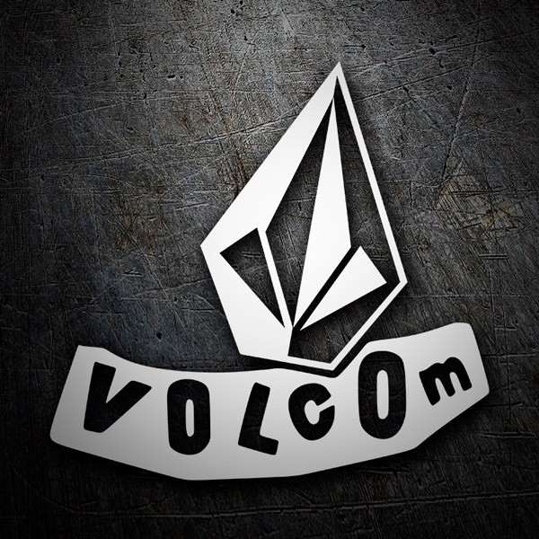 Aufkleber: Volcom abstract