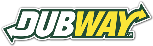 Aufkleber: Dubway Volkswagen