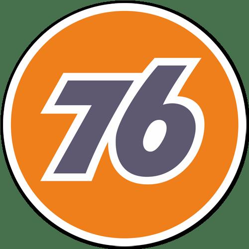 Aufkleber: 76