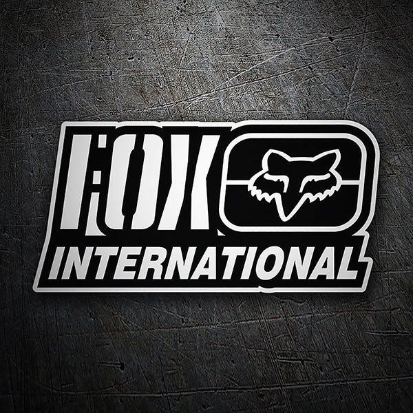 Aufkleber: Fox Racing International