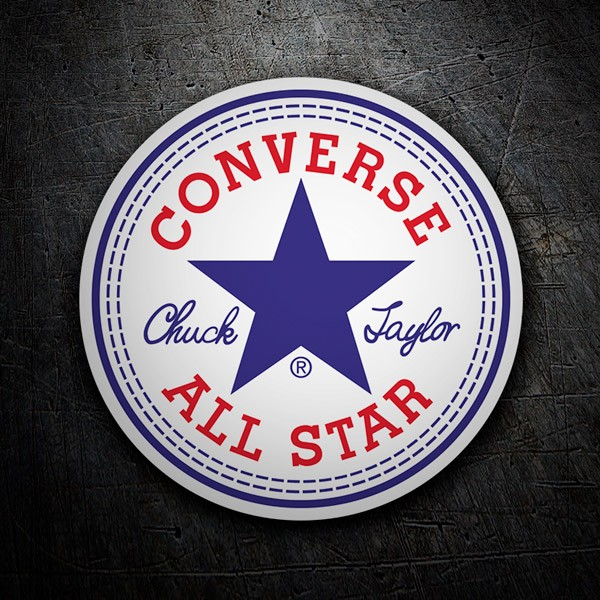 Aufkleber: Converse All Star