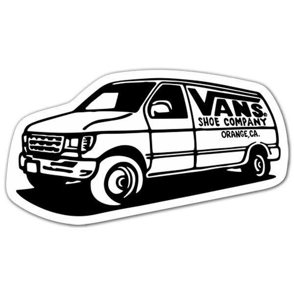 aufkleber vans