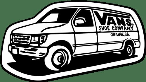 Aufkleber: Vans 3