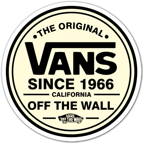 Aufkleber: The Original Vans