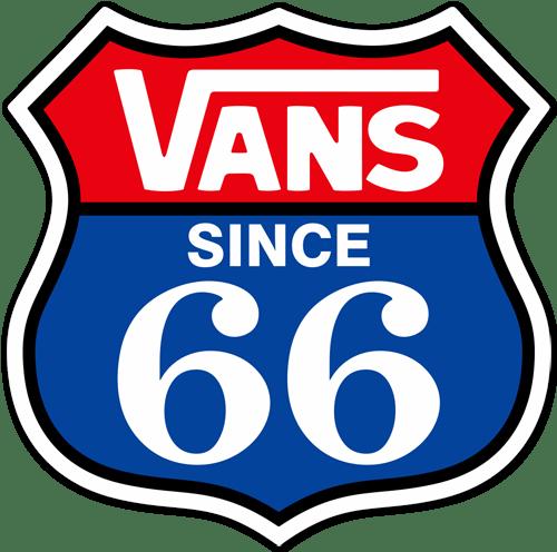 Aufkleber: Vans Since 66 1