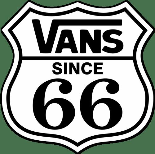 Aufkleber: Vans Since 66 2